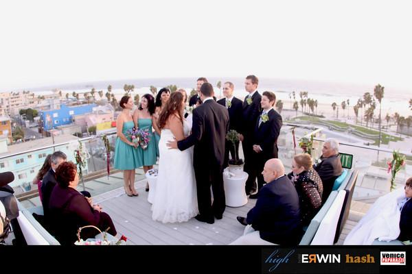10.04.09  Wedding at Hotel Erwin's High