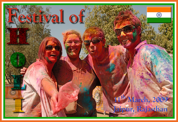 Holi - The Festival of Colours, Jaipur, Mar 2009