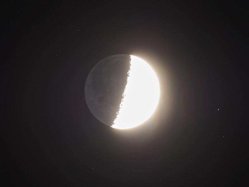 Earthshine 46% 19th April 2021
