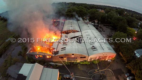 Thorpe St. Building Fire (Fairfield, CT) 6/2/15