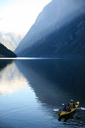 Fjord kayaking Norway