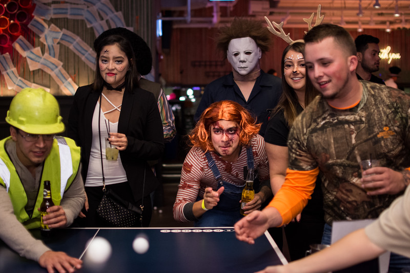 Halloween Party at AceBounce