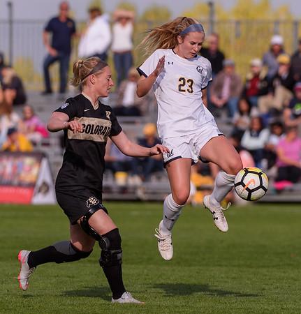 NCAA - Women's Soccer - CU vs Cal - 2017-10-05