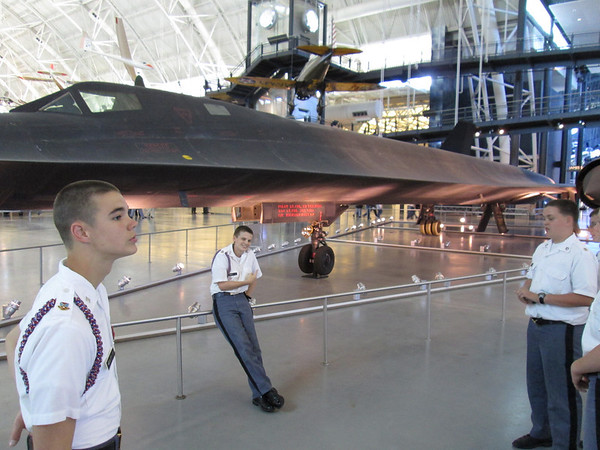 8th grade trip to Udvar-Hazy cn