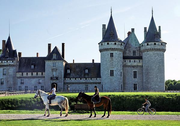 Château de Sully sur Loire - Vues Chevaux