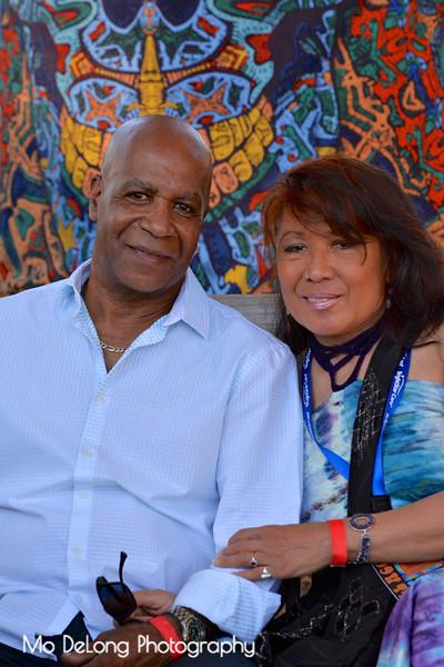 Billy Johnson and Marissa Tampoya