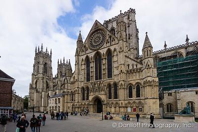 York, England - October 2017
