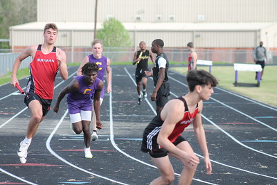 Center Track & Field at Newton Meet