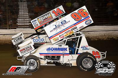 Grandview Speedway - 8/22/19 - Steve Sabo