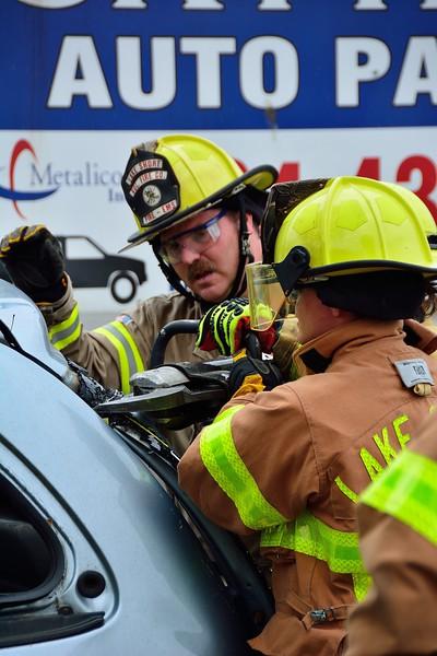 Lakeshore Fire - Auto Extrication Training 6/23/18