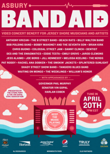 Asbury Band Aid Gives Back to Jersey Shore Artists + Musicians