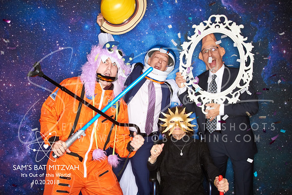 Sam's Out of This World Bat Mitzvah