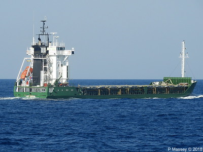 Vessels Passing Cape Maleas 16 Sep 2018