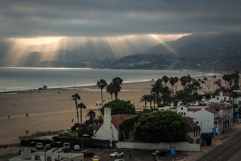 July 1 - Almost sunset over Santa Monica.jpg