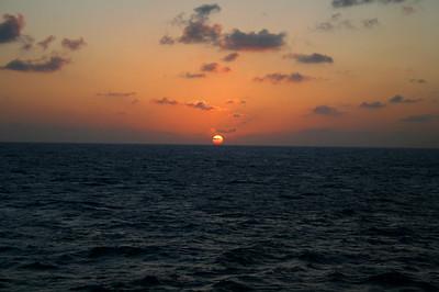 May 1 - Ship & Sunset