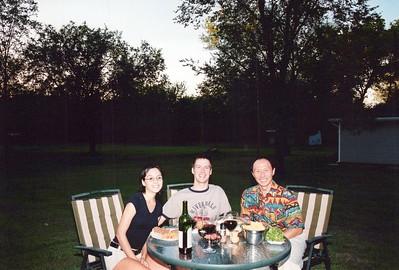 9-6-2003 Garen & Yvette McMillian Dinner
