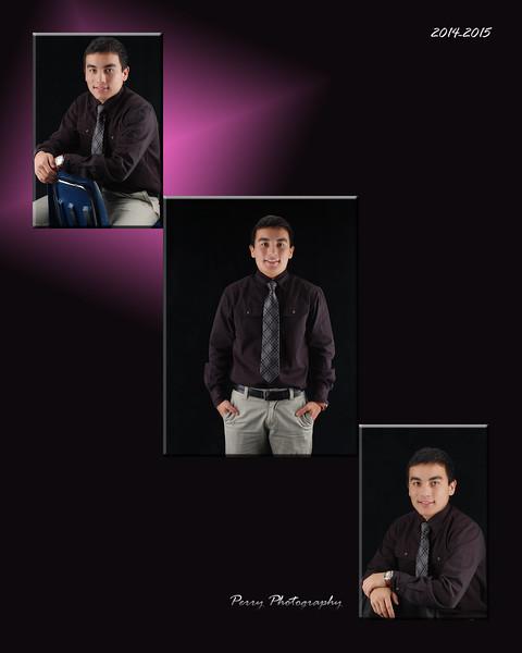 Collage - 3 light portrait