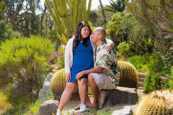Balboa Park Engagement Photography
