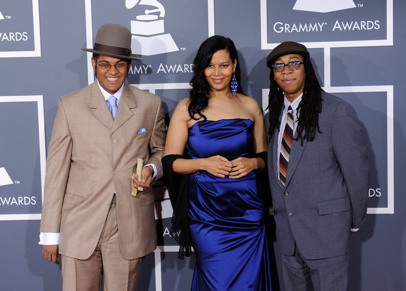 . Carolina Chocolate Drops arrives to  the 55th Annual Grammy Awards at Staples Center  in Los Angeles, California on February 10, 2013. ( Michael Owen Baker, staff photographer)