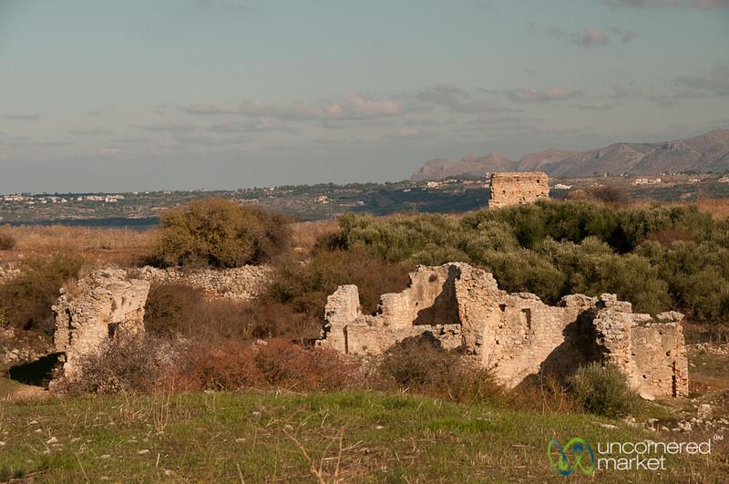 Aptera Ruins Near Chania, Crete