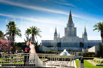 Laura & Bill: Oakland LDS Temple Wedding