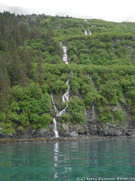 Prince William Sound Waterfall
