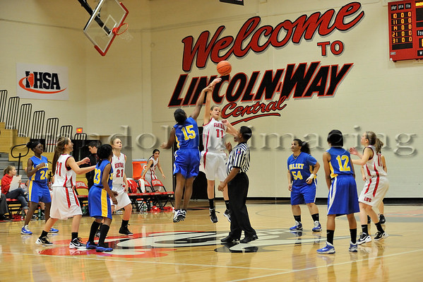 Lincoln-Way Central Sophomore Basketball (2011-2012)