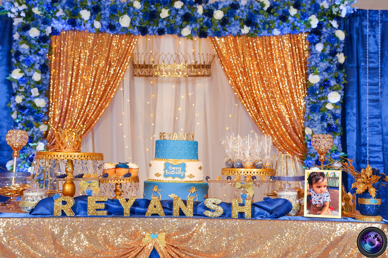 Reyansh First Birthday Party