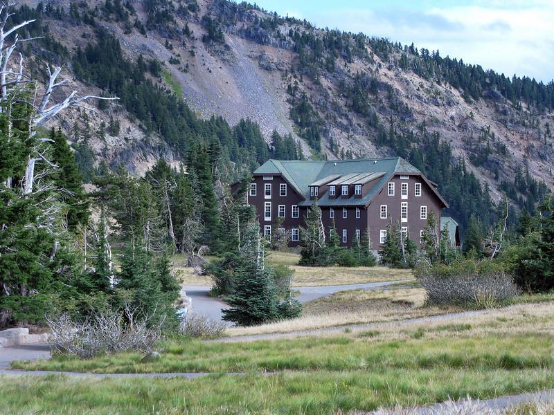 Inn at crater Lake.