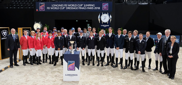 LONGINES FEI WORLD CUP JUMPING - FINAL 1