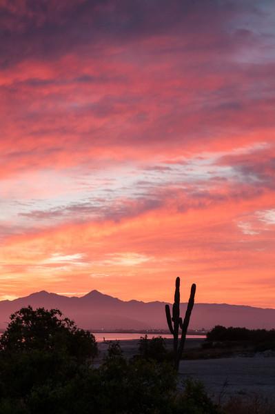 Sunrise over La Paz Sunrise over La Paz