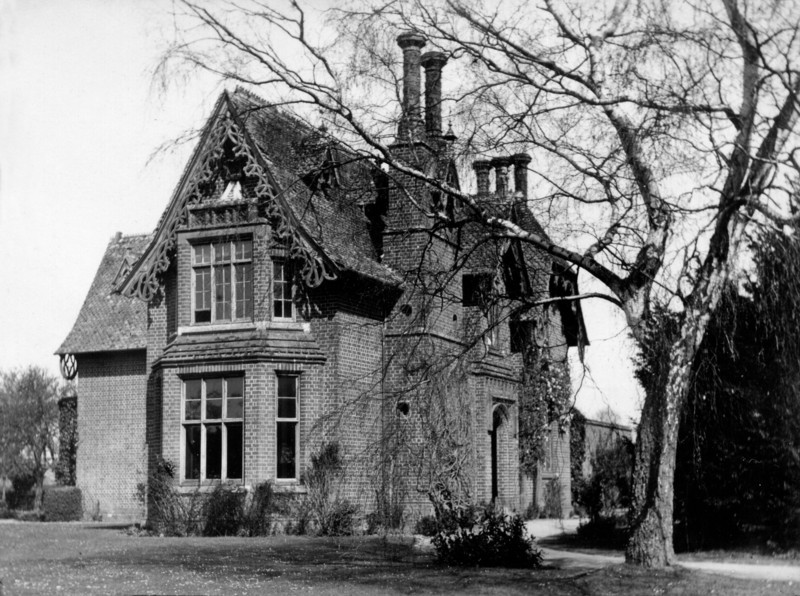 Vicarage (photo by Rev Holland). Provided by Elizabeth Smith