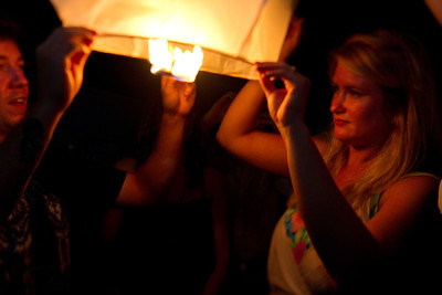 Haley and Tim: Paper Lanterns