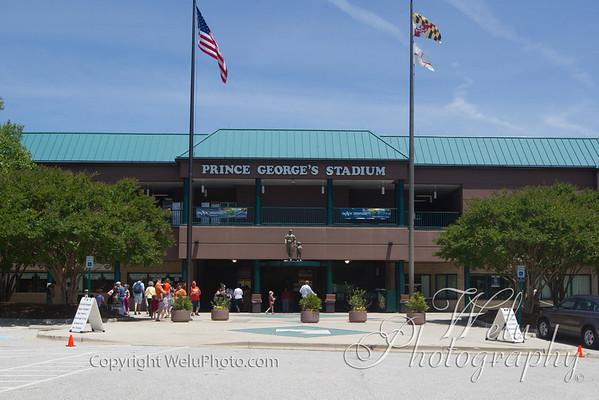 6-15-2014 Harrisburg Senators at Bowie Baysox