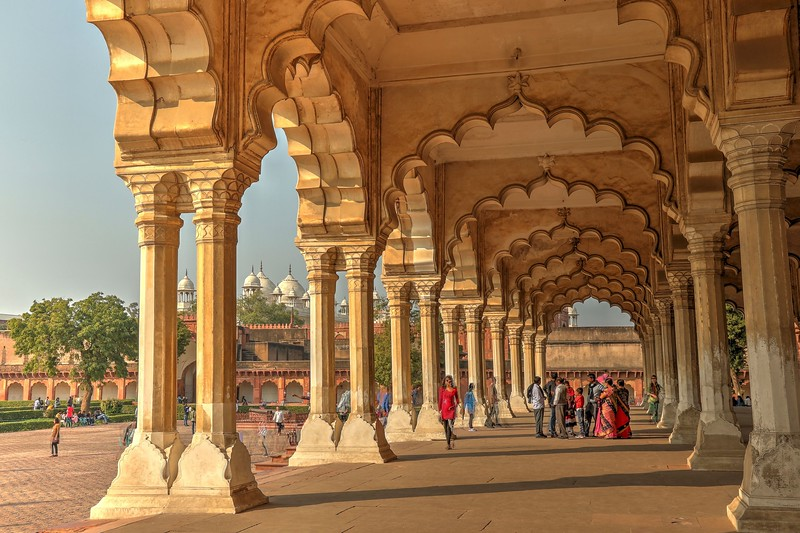 Diwan-i-Aam, the Public Audience Hall - Red Fort, Agra