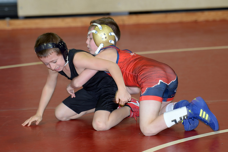 Wrestlers of all ages came to Wall Township High School, Wall, NJ to participate in the Wrestling fundraiser to benefit Jason's DSreams For Kid's on 01/13/2019.