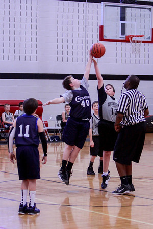 Jan 5 - 5th Gr Boys BB vs Hawks White