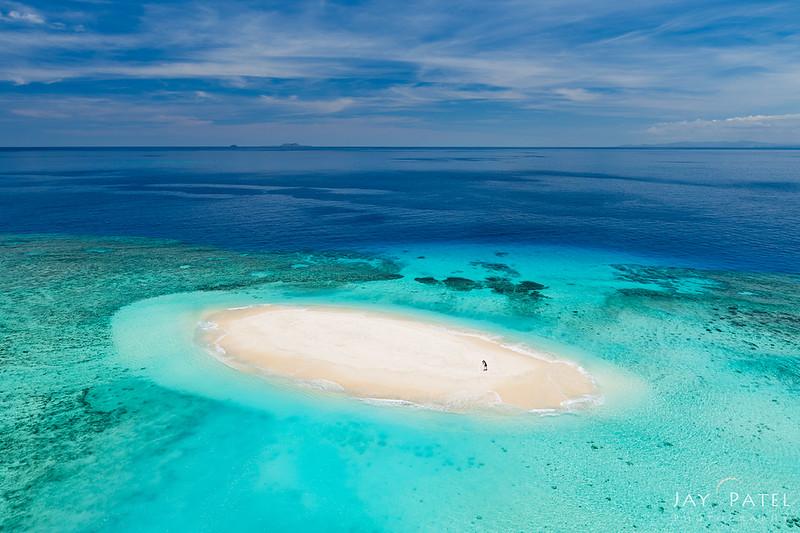 Varina on Sandbar, Fiji