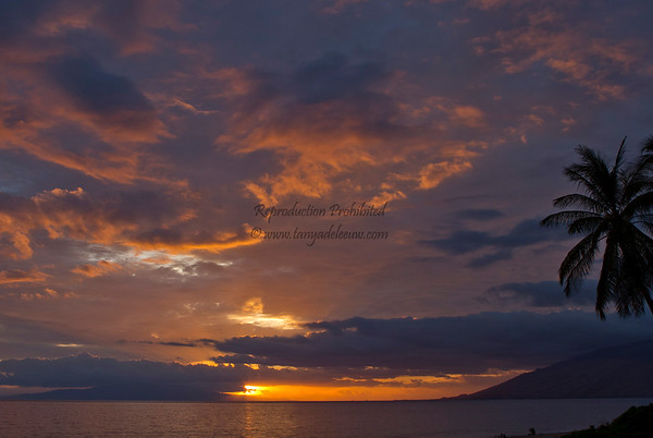 Maui Sunsets - Kihei - May 2011