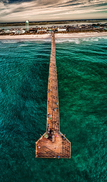 Jolly Roger Pier Topsail Island Beach