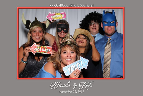 Wanda & Kirk Wedding Photo Booth