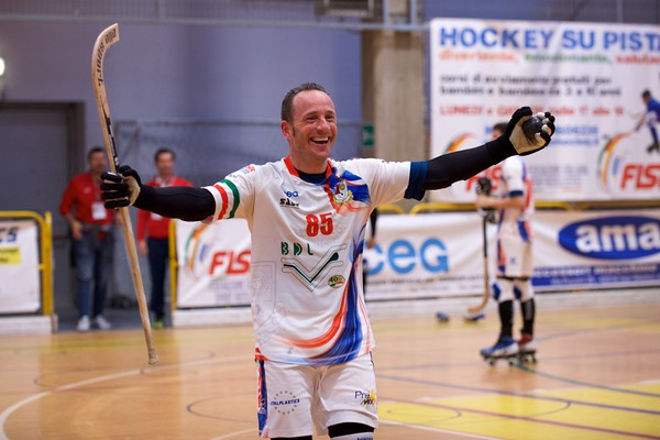 Finali playoff A2: Correggio Hockey vs Hockey Montecchio Precalcino