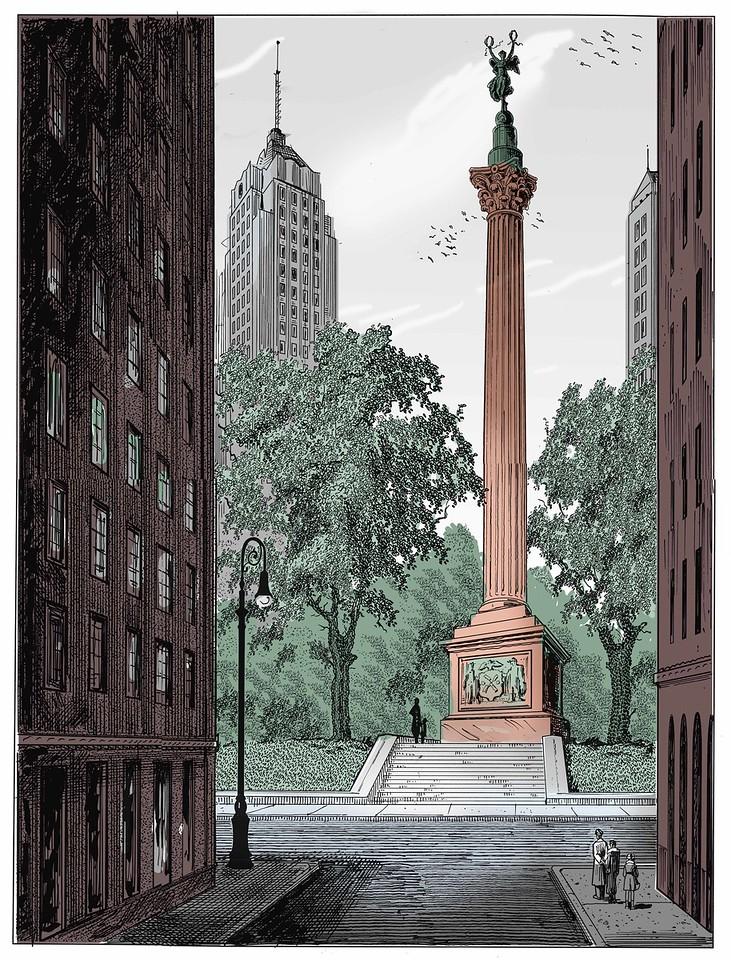 Design for a 9/11 memorial