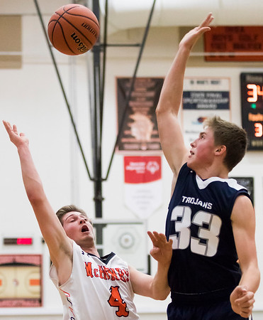 McHenry boys basketball played Cary-Grove
