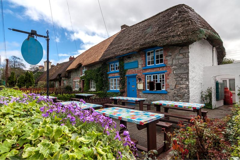 Village of Adare near Limerick, Ireland