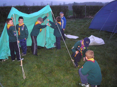 CUBS Woolley Edge Camp - April 2007