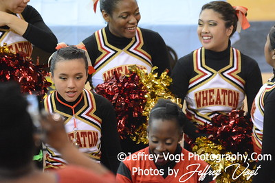 02-01-2014 Wheaton HS Poms at MCPS County Championship Division 3,  Photos by Jeffrey Vogt Photography & Kyle Hall