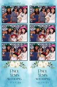 10/17/20 - Paul & Yesi's Wedding