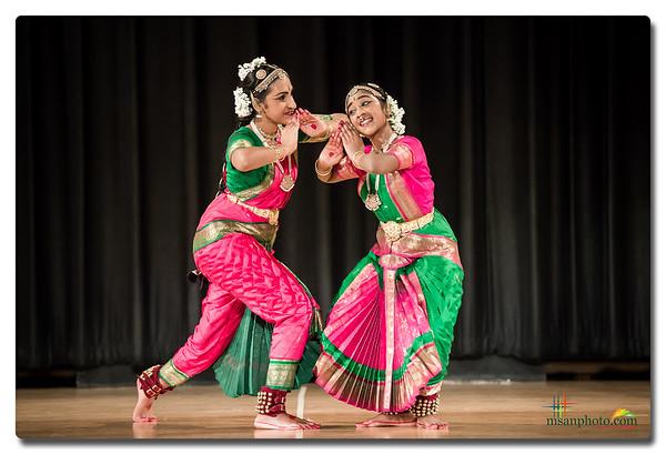 Rithika & Anika's Bharatanatyam Arangetram 2016 - Highlights
