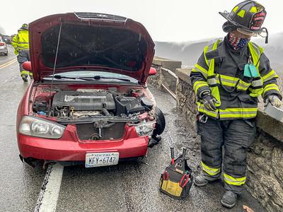 4-12-2021 MVA With Injuries, Bear Mt Bridge Road, Photos By Bob Rimm